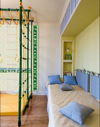 Детская маленькая комната интерьер