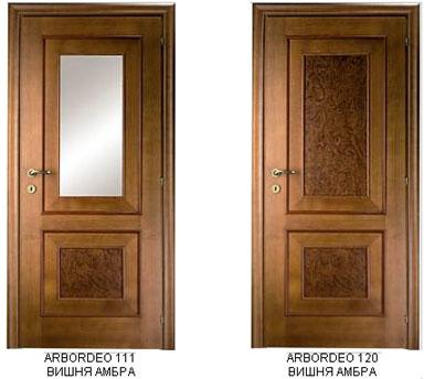 Это серия плоских дверей с