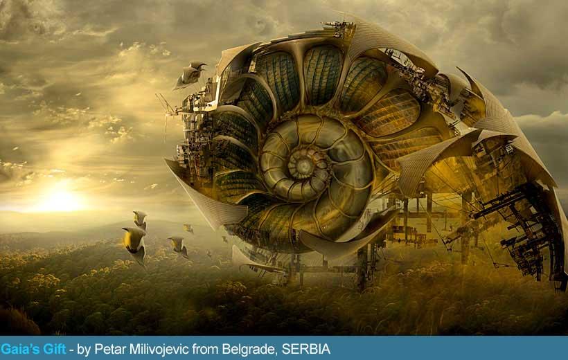поощрительная премия. Петр Миливожевич. Сербия. Спираль