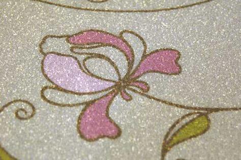 Обои из бисера - это просто невероятный декоративный материал.  Его основа состоит из бумажного винила...