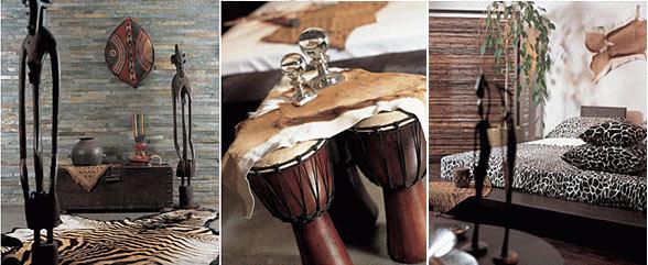 Африканский стиль - это,пожалуй, самый экзотичный из этностилей.